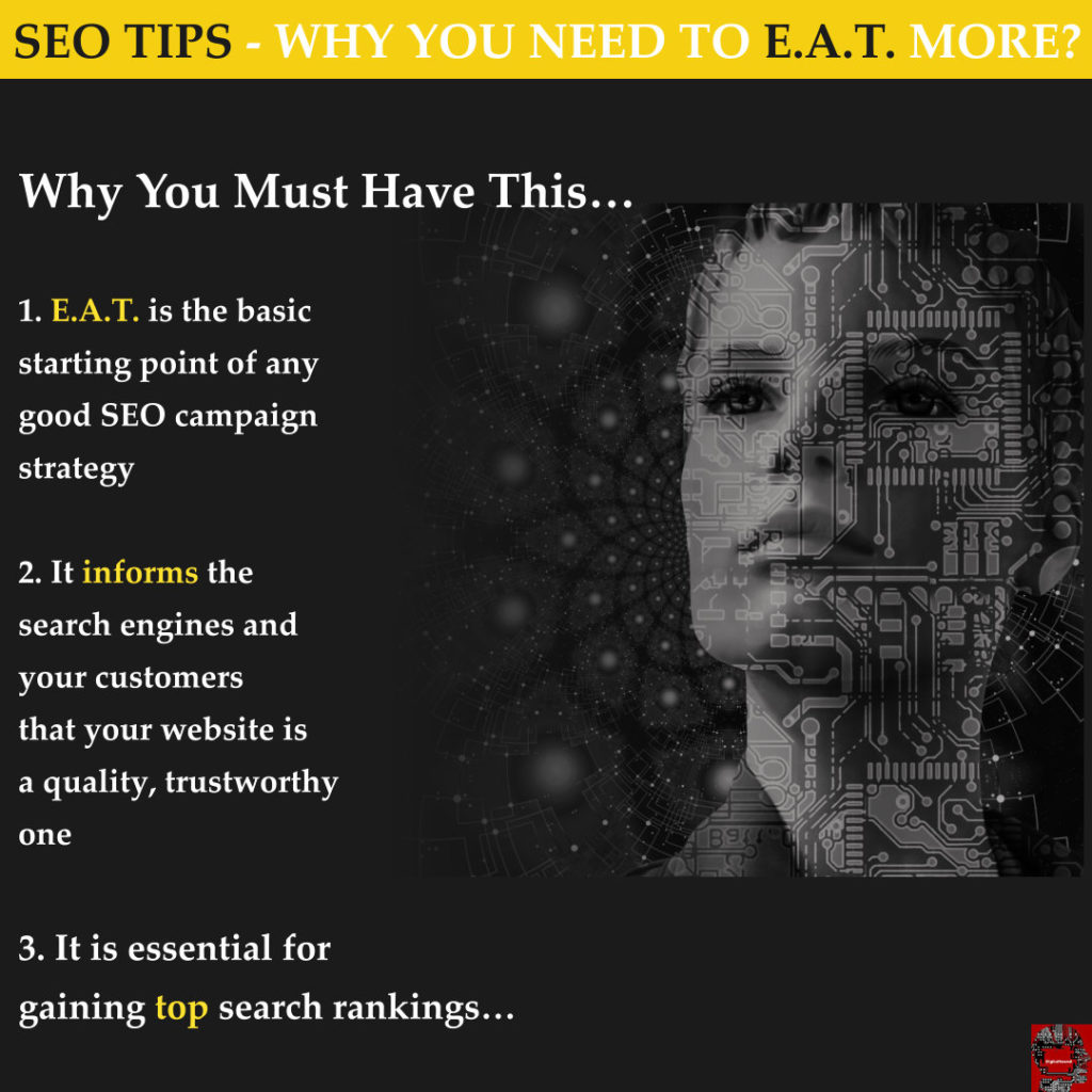 SEO Tips- E.A.T. - Why It's A Must Have