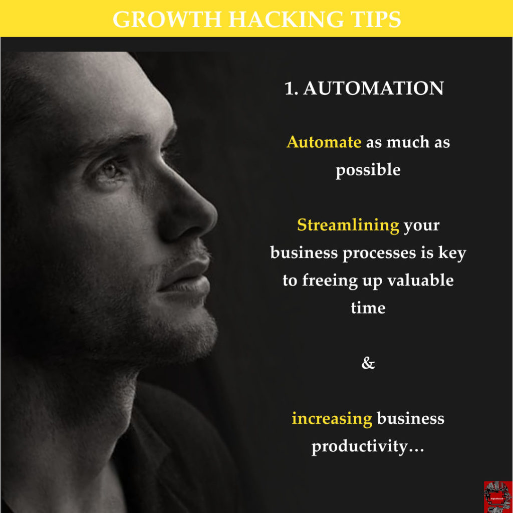 Growth Hacking Tips 1 - Automation