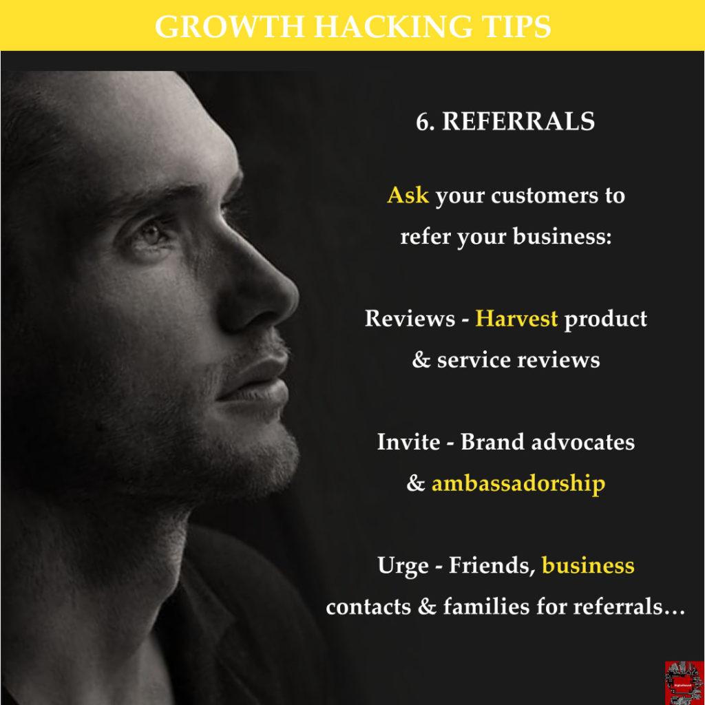 G H Tips 6 - Referrals