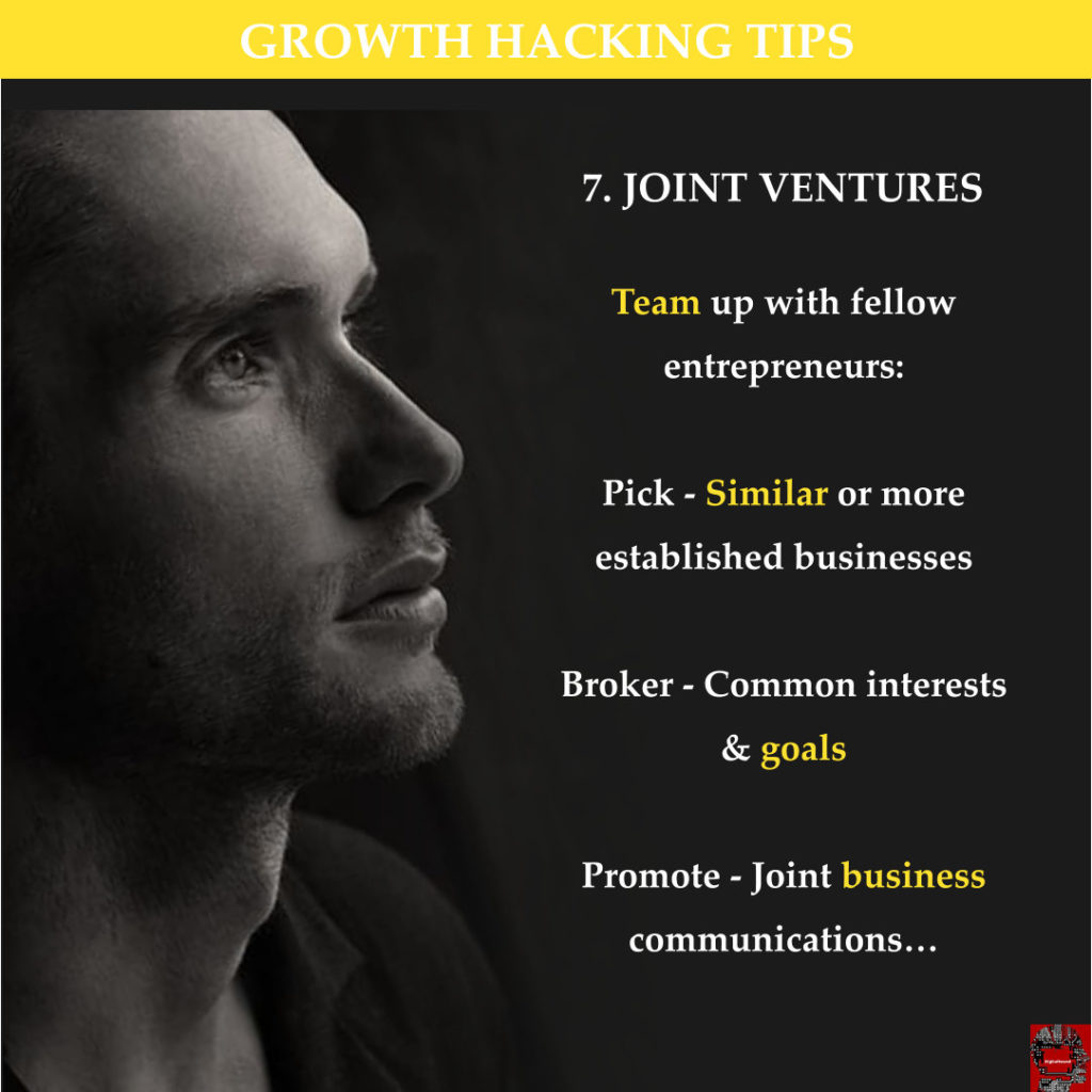 Growth H Tips - Joint Venture