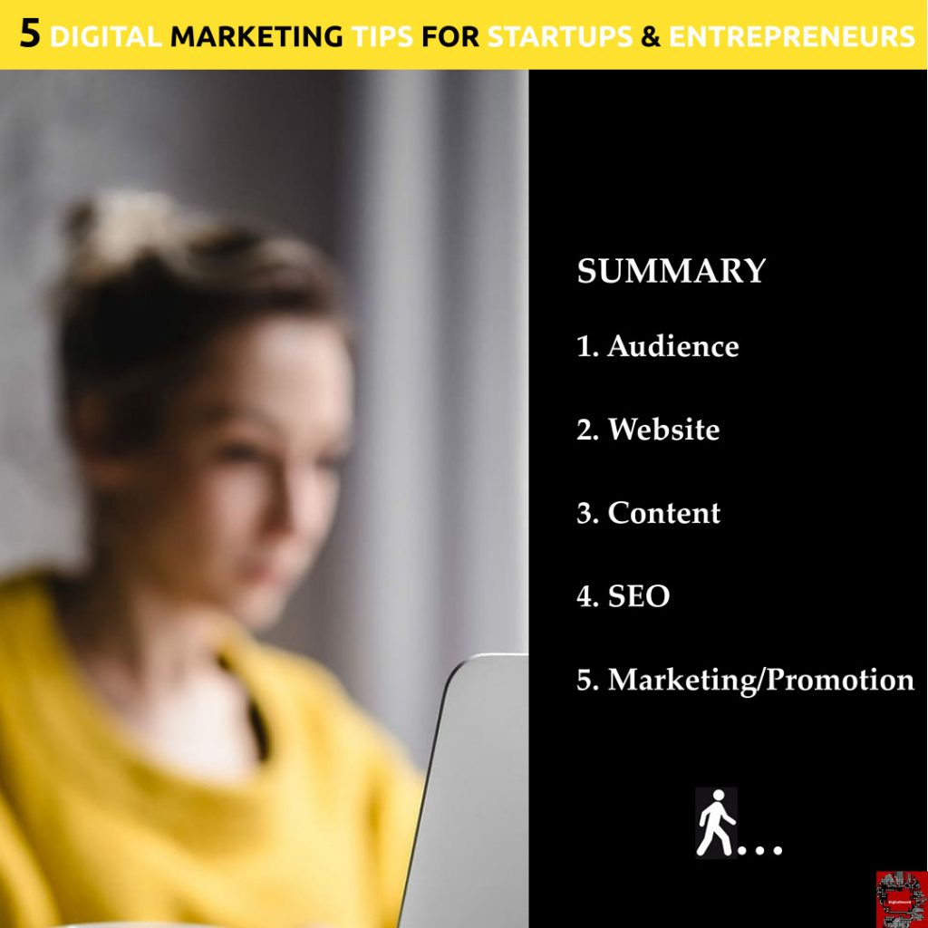 5 digital marketing summary