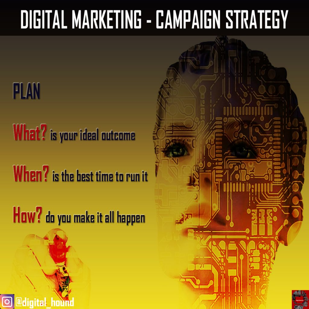 5 pillars of a digital marketing campaign strategy