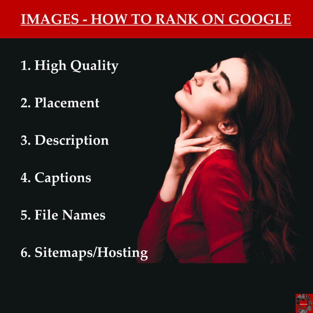 Image search rankings - Google seo